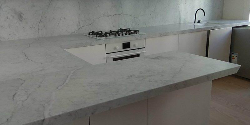 Køkkenborde af marmor er stadig moderne!